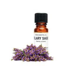Eteerinen öljy Muskatellisalvia - Clary Sage 10 ml-0